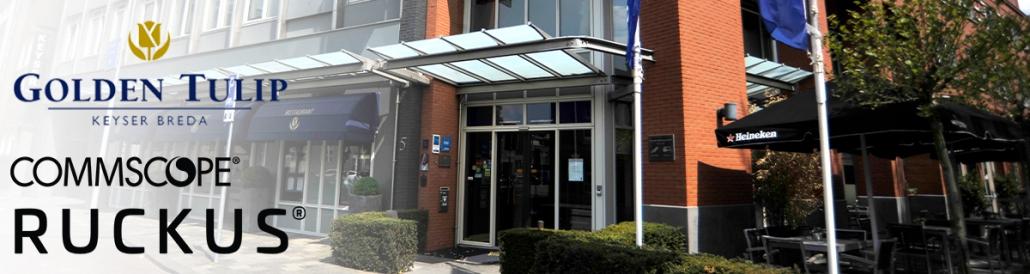 Case hotel Golden Tullip Keyser Breda | Ruckus & Daemen ICT