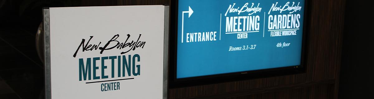 New Babylon Meeting Center casestudy - Ruckus & Nextlevel ICT