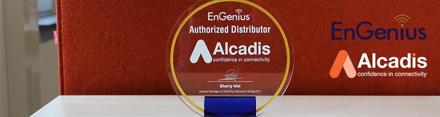 Award Alcadis EnGenius Authorized Distributor