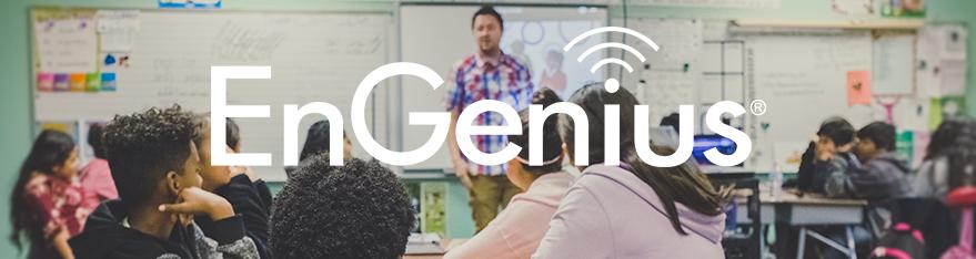 EnGenius levert betaalbare Wi-Fi voor onderwijs