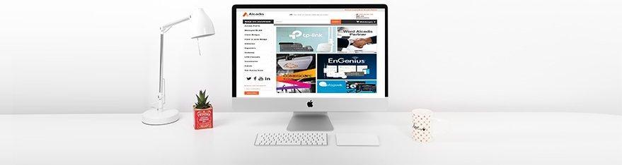 Alcadis vernieuwde webshop