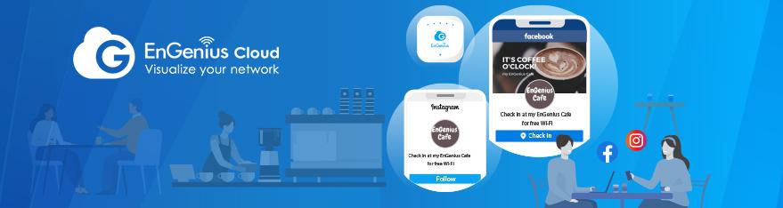 EnGenius Cloud Facebook Wi-Fii